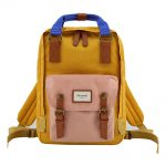 HIMAWARI BACKPACK YELLOW/PINK