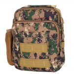 FANTOM - GREEN CAMOUFLAGE SHOULDER BAG